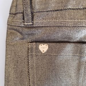Juicy Couture girls Gold colored Jeans